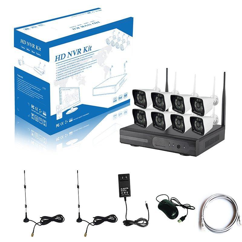 720P 8CH WIFI NVR KIT AP-K9608W-PA3010W