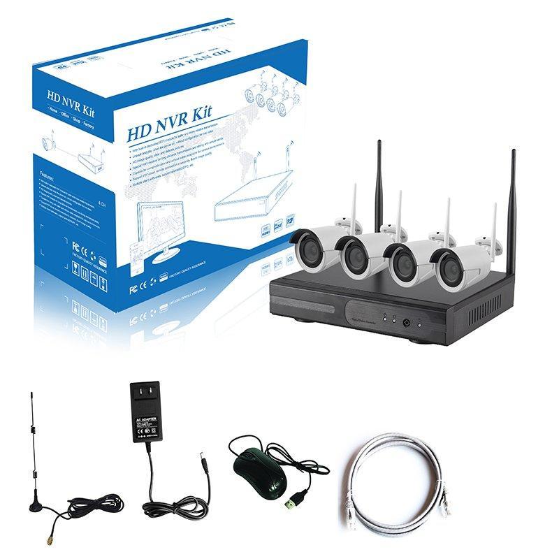 960P 4CH WIFI NVR KIT AP-K9604W-PE3013-NE