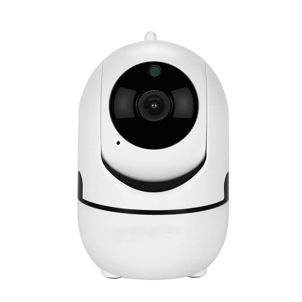1080P WiFi Wireless Baby Monitor Motion Tracking Cloud storage Night Vision Security mini black IP Camera