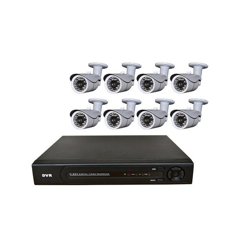 1080P 8CH AHD DVR KIT AP-KIT8A201