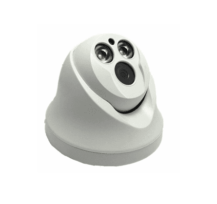 FIXED LENS 2ARRAY LED DOME IP CAMERA B039